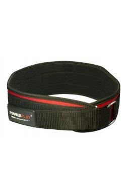 Пояс для тяжёлой атлетики PowerPlay 5535 Красно-Чорний (Неопрен)