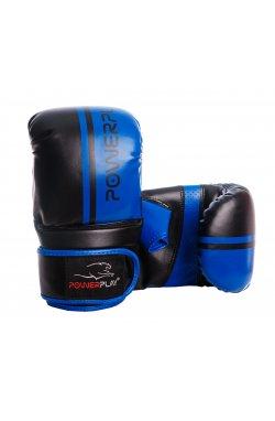 Снарядні рукавички PowerPlay 3025 Чорно-Сини