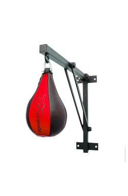 Пневмогруша боксерская PowerPlay 3061 Чорно-Червона