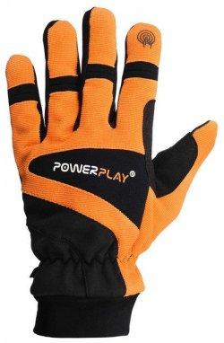 Перчатки лижні PowerPlay 6906 Оранжевые (Универсальные зимние)