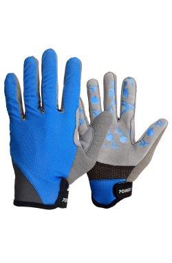 Велоперчатки PowerPlay 6566 Сини