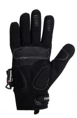 Перчатки лижні PowerPlay 6890 Черные (Универсальные зимние)