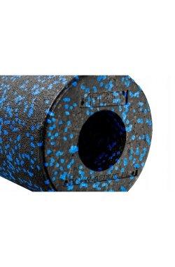 Массажный ролик (валик, роллер) гладкий 4FIZJO EPP 33 x 14 см 4FJ1417 Black/Blue