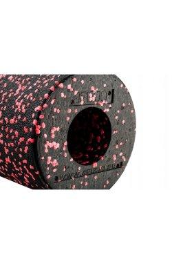 Массажный ролик (валик, роллер) гладкий 4FIZJO EPP 33 x 14 см 4FJ1431 Black/Red