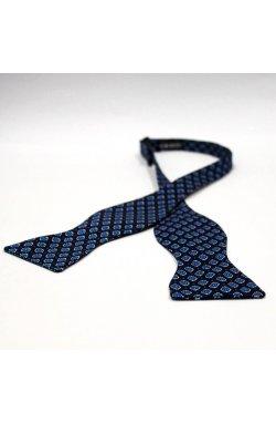 Галстук-бабочка Krago Dark Blue Medallion 34-45 см синий