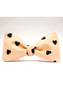 Галстук-бабочка Krago Minimalist Love 34-45 см розовый
