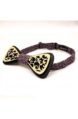 Галстук-бабочка Krago Gorgeous Violet Wooden34-45 см фиолетовый