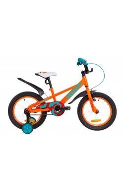 """Велосипед 16"""" Formula JEEP 2019 (оранжево-бирюзовый)"""
