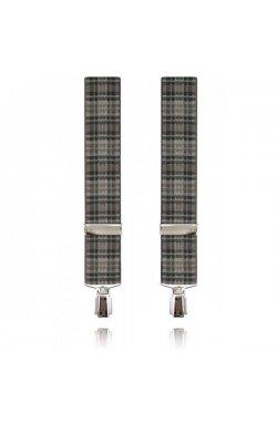 Подтяжки широкие 35 мм Lindenmann 7548-02