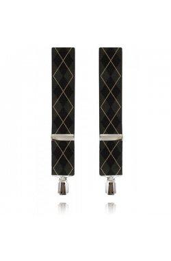 Подтяжки широкие 35 мм Lindenmann 8600-03