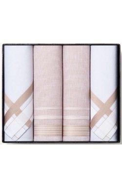 Комплект мужских носовых платков Guasch Titanium 90-02