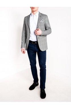 Мужской кэжуал пиджак P92 - BLACK