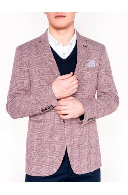 Мужской кэжуал пиджак P92 - RED