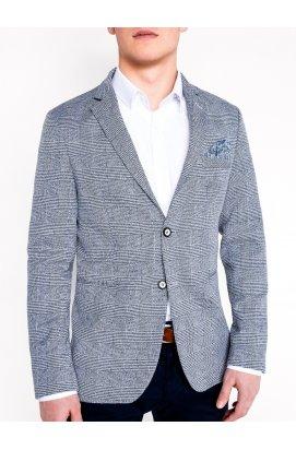 Пиджак мужской кежуал P92 - синий