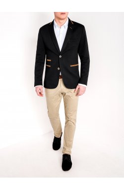 Мужской кэжуал пиджак P72 - BLACK