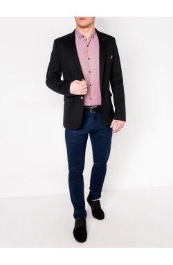 Мужской кэжуал пиджак P103 - BLACK