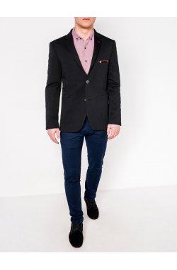 Мужской кэжуал пиджак P111 - BLACK