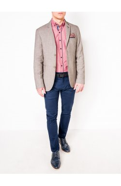 Мужской кэжуал пиджак P95 – BEIGE