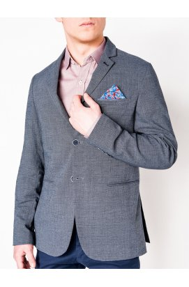 Пиджак мужской кежуал P95 – синий/меланж