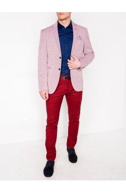 Мужской ELEGANT пиджак P97 - RED