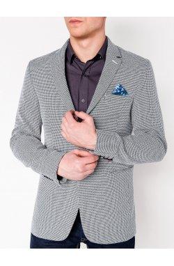 Мужской кэжуал пиджак P119 - BLACK