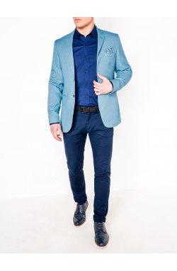 Мужской ELEGANT пиджак P102 - LIGHT BLUE