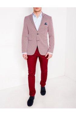 Мужской кэжуал пиджак P119 - RED