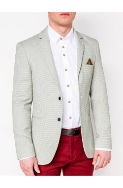 Мужской кэжуал пиджак P119 - GREEN
