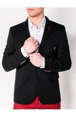 Мужской кэжуал пиджак P110 - BLACK