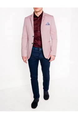 Мужской кэжуал пиджак P118 - RED
