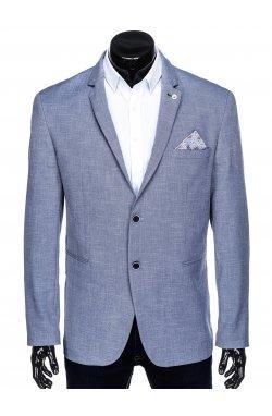 Мужской пиджак P126 - темно - Синий