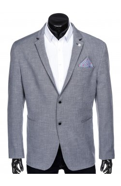 Мужской пиджак P126 - темно - серый
