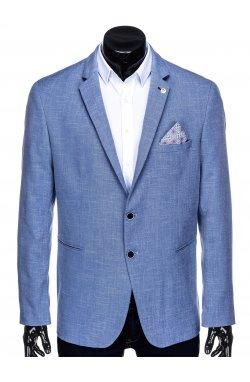 Мужской пиджак P126 - LIGHT Синий