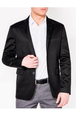 Мужской ELEGANT пиджак P155 - BLACK