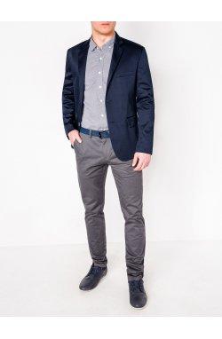 Мужской ELEGANT пиджак P155 - Синий