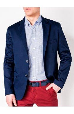 Мужской ELEGANT пиджак P155 - LIGHT Синий