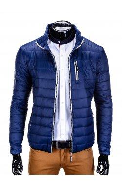 MID-SEASON QUILTED PEN'S Куртка мужская K211 - синий
