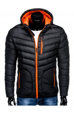 MEN'S PID-SEASON QUILTED Куртка мужская K356 - черный