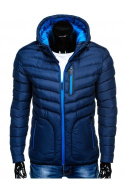MEN'S PID-SEASON QUILTED Куртка мужская K356 - синий