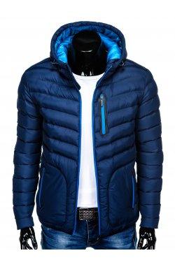 MEN'S PID-SEASON QUILTED Куртка мужская K356 - синий