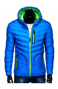 MEN'S PID-SEASON QUILTED Куртка мужская K356 - голубой