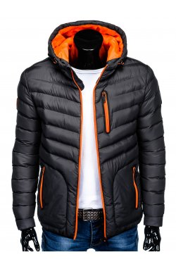 MEN'S PID-SEASON QUILTED Куртка мужская K356 - темно - серый