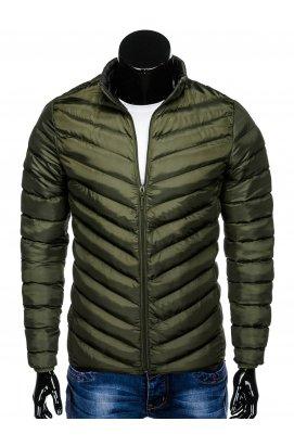 Куртка мужская демисезонная стеганая K344 - хаки