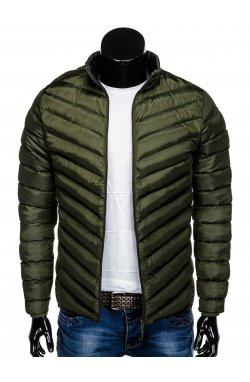 MEN'S PID-SEASON QUILTED Куртка мужская K344 - KHAKI