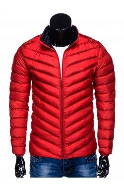 MEN'S PID-SEASON QUILTED Куртка мужская K344 - красный
