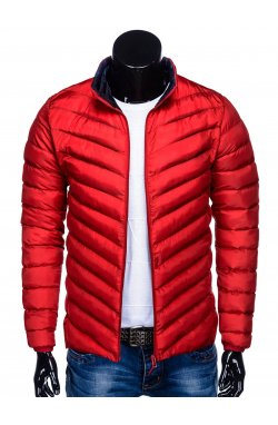 MEN'S PID-SEASON QUILTED Куртка мужская K344 - красный