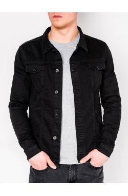 MEN'S PID-SEASON джинсовый Куртка мужская K345 - черный