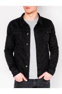 Куртка мужская джинсовая K345 - черный