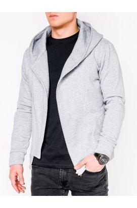 Men's zip-up hoodie PRIMO - Серый