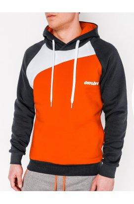 Толстовка мужская MIGUEL - Темно- Серый/оранжевый